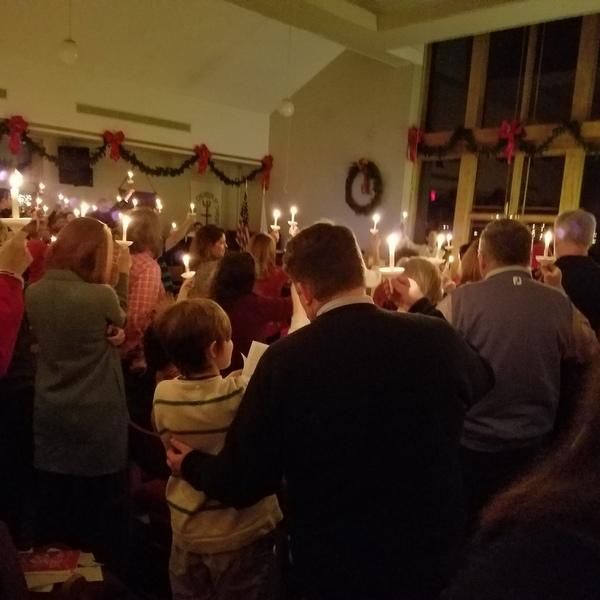 Intergenerational Christmas Eve Candlelight Service – December 24
