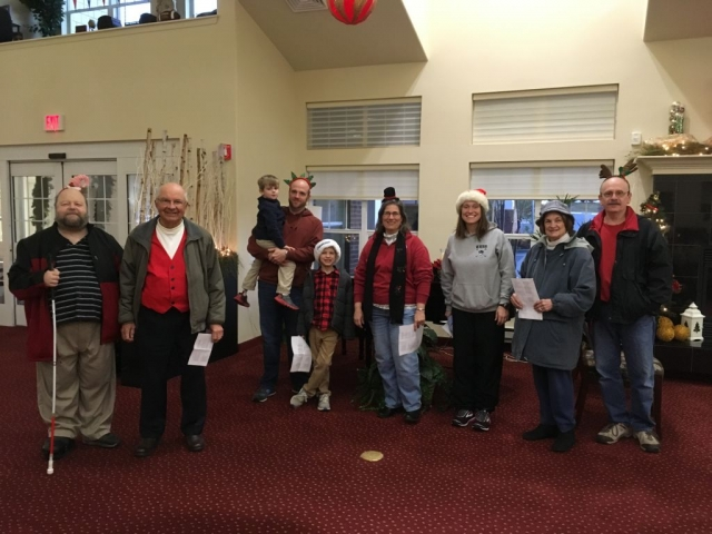Christmas Caroling at StoneRidge Gracious Retirement Living
